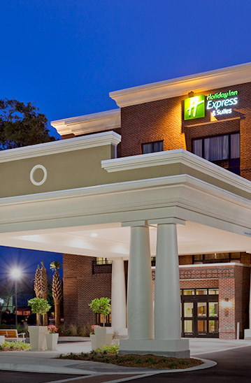 Holiday Inn Express brick building